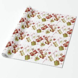 Papel de embalaje de los regalos y de los papel de regalo