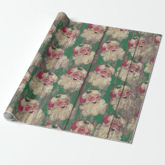 papel de embalaje de madera antiguo del día de