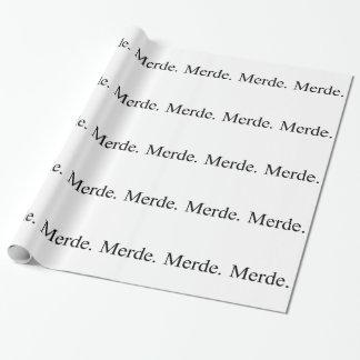 Papel de embalaje de Merde para los bailarines de