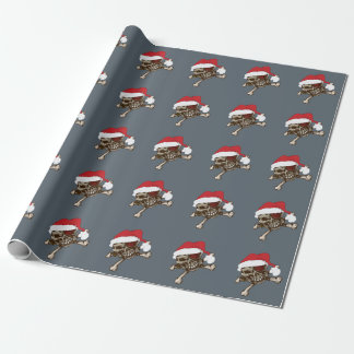 Papel de embalaje de regalo de vacaciones del