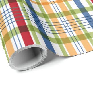 Papel de embalaje del cumpleaños de la tela papel de regalo