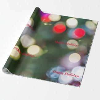 Papel de embalaje del día de fiesta del navidad