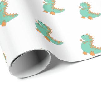 Papel de embalaje del dinosaurio