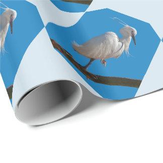 Papel de embalaje del pequeño Egret