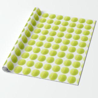Papel de embalaje del tenis