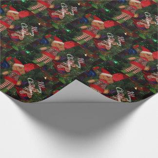 Papel de embalaje/duende papel de regalo