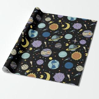 Papel de embalaje - el cosmos grande