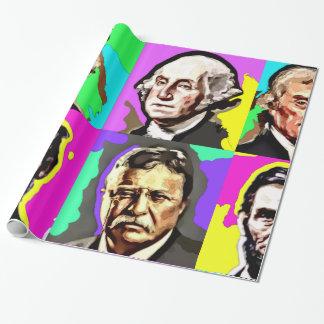 Papel de embalaje histórico cuatro