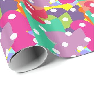 Papel de embalaje loco del color