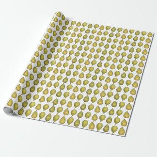 Papel de embalaje maduro de las peras
