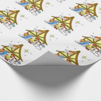 Papel de embalaje/natividad papel de regalo