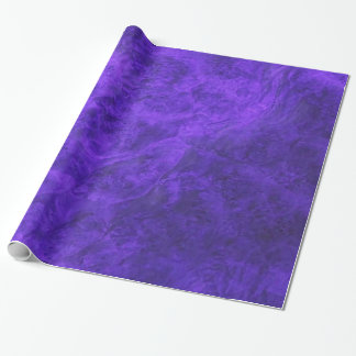 Papel de embalaje púrpura Amethyst del terciopelo