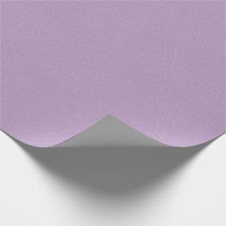 Papel de embalaje purpúreo claro texturizado del