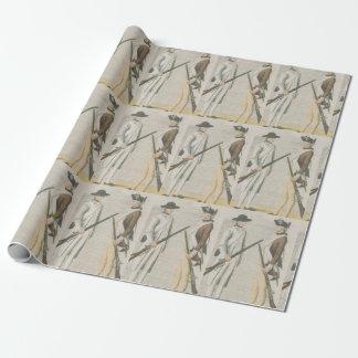 Papel de embalaje revolucionario de los soldados