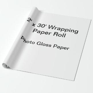 Papel de embalaje (rollo 2x30, papel del lustre de