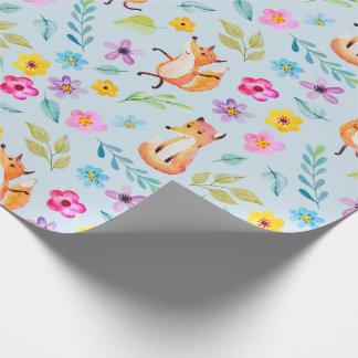 Papel de embalaje - Sr. feliz Fox