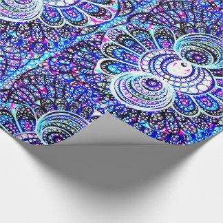 Papel de envoltorio para regalos ambarino del papel de regalo