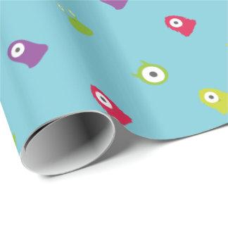 Papel de envoltorio para regalos colorido del