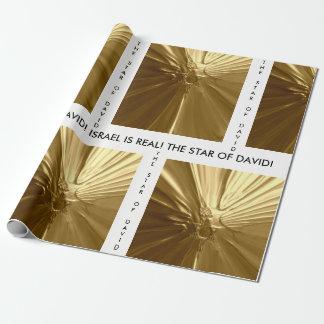 Papel de envoltorio para regalos - la ESTRELLA de Papel De Regalo