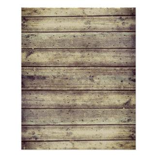 Papel de madera Antiqued oscuridad del libro de
