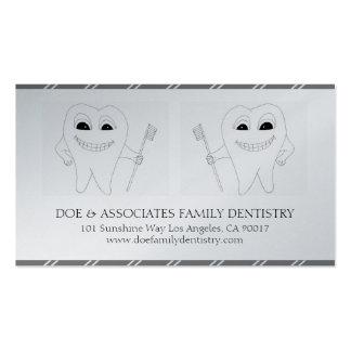 Papel de oro de la oficina dental de la odontologí plantillas de tarjeta de negocio