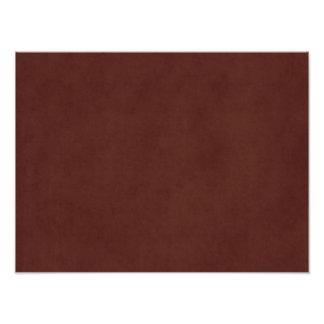 Papel de pergamino bronceado cuero de Brown del Impresión Fotográfica
