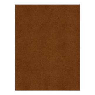 Papel de pergamino bronceado cuero de Brown del Impresion Fotografica