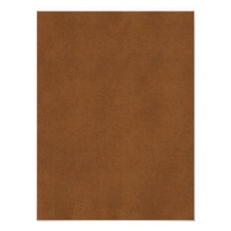 Papel de pergamino bronceado cuero de Brown del Impresiones Fotograficas