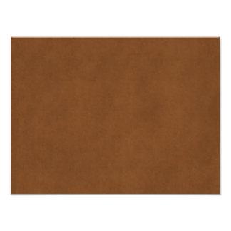 Papel de pergamino bronceado cuero de Brown del Fotografia