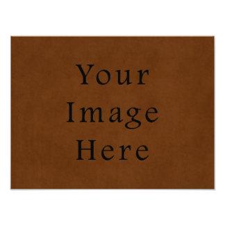 Papel de pergamino bronceado cuero de Brown del vi Impresiones Fotograficas