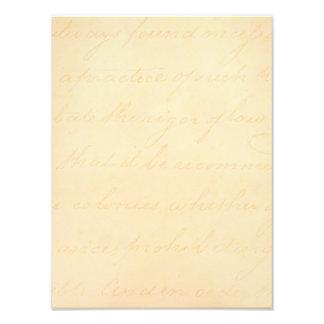 Papel de pergamino colonial de la escritura del fotografías