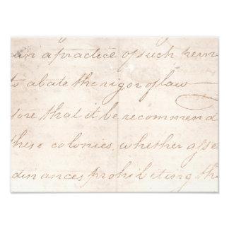 Papel de pergamino colonial de la escritura del arte fotografico