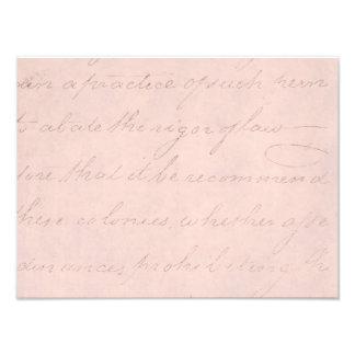 Papel de pergamino colonial de la escritura del foto