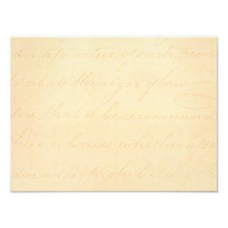 Papel de pergamino colonial de la escritura del fotografia