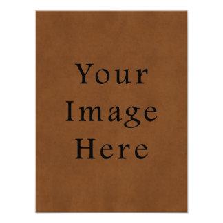 Papel de pergamino de cuero bronceado vintage de B Fotografias
