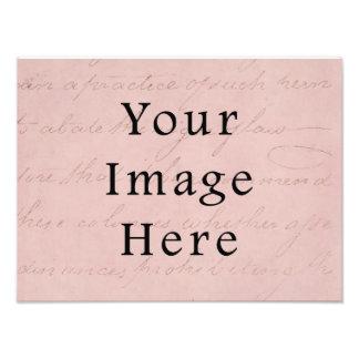 Papel de pergamino del texto de la escritura del r impresion fotografica