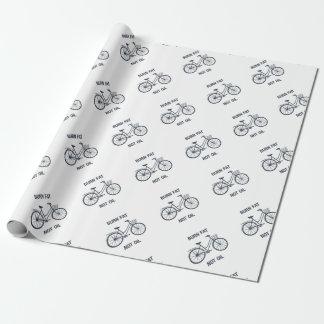 Papel De Regalo Aceite de la grasa de la quemadura de la bicicleta