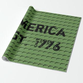 Papel De Regalo América EST. 1776