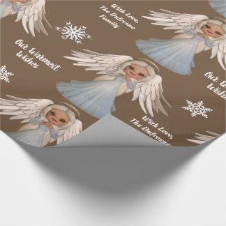 Papel De Regalo Ángel hermoso personalizado