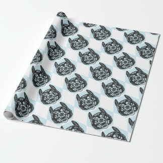 Papel De Regalo Angry wolf