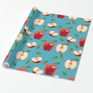 Papel De Regalo Apple rojo modela