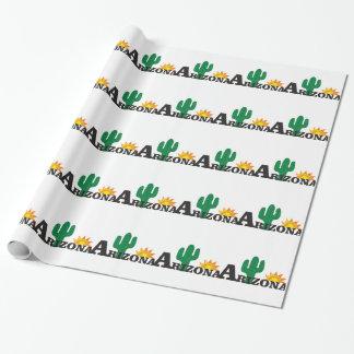 Papel De Regalo Az del cactus