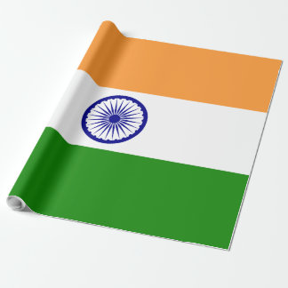 Papel De Regalo Bandera de la India