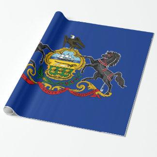 Papel De Regalo Bandera de Pennsylvania