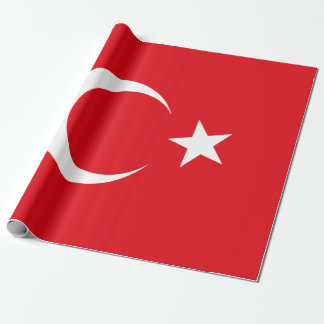 Papel De Regalo Bandera de Turquía