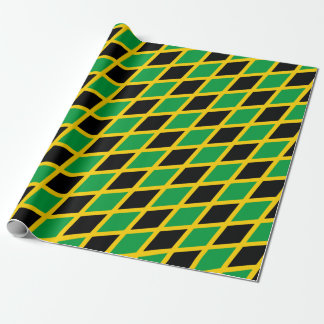 Papel De Regalo Bandera jamaicana