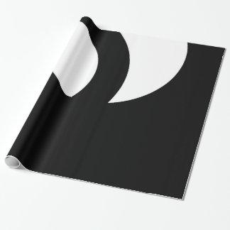 Papel De Regalo blanco y negro