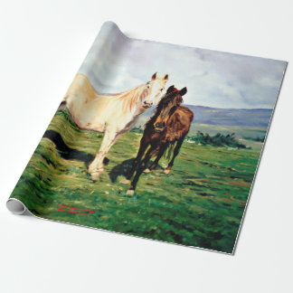Papel De Regalo Caballos/Cabalos/Horses