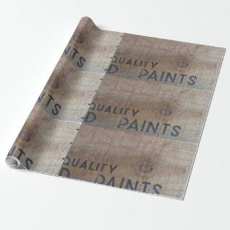 Papel De Regalo cajón de la madera de la escuela vieja