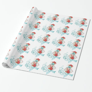 Papel De Regalo Chica en Gasmask Allergy2